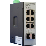 ISD-206-MP Industrieller managed Ethernet-POE+ Switch